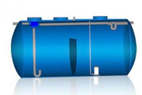 Fosa séptica, compacto fosa filtro, Oxidación total
